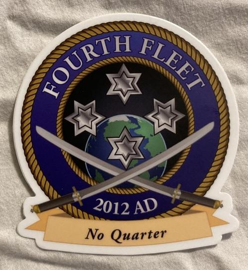 Fourth Fleet Sticker