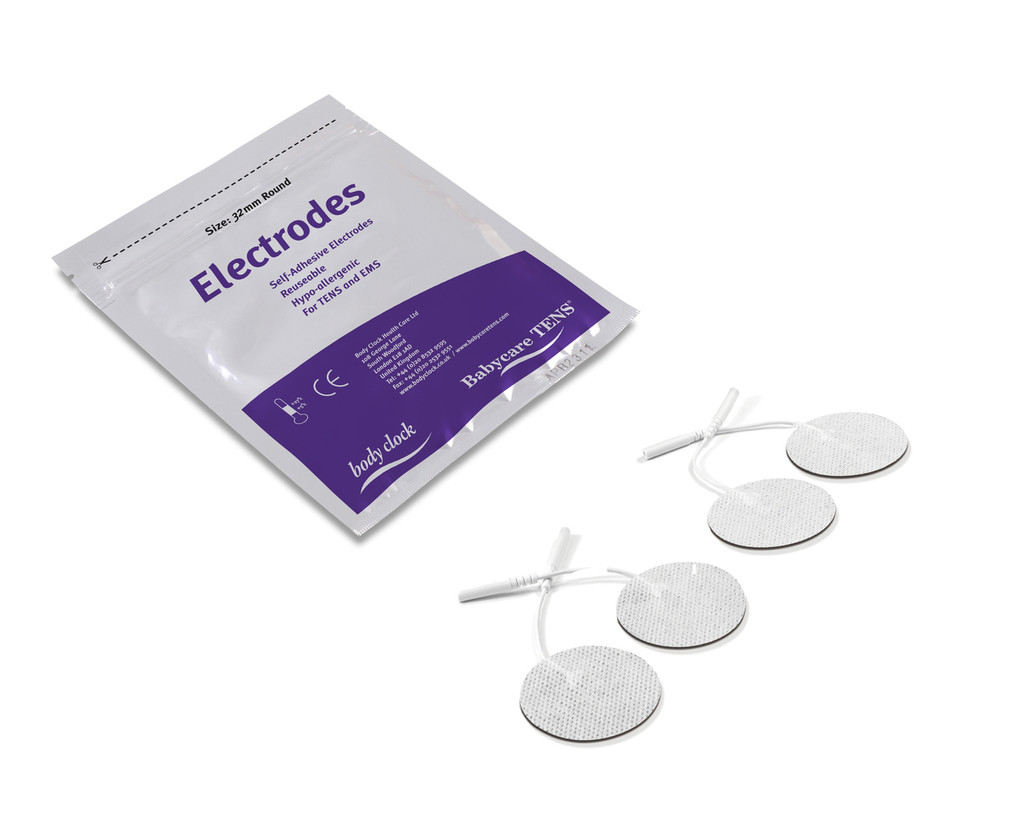 body clock square  tens machine electrodes - pack shot