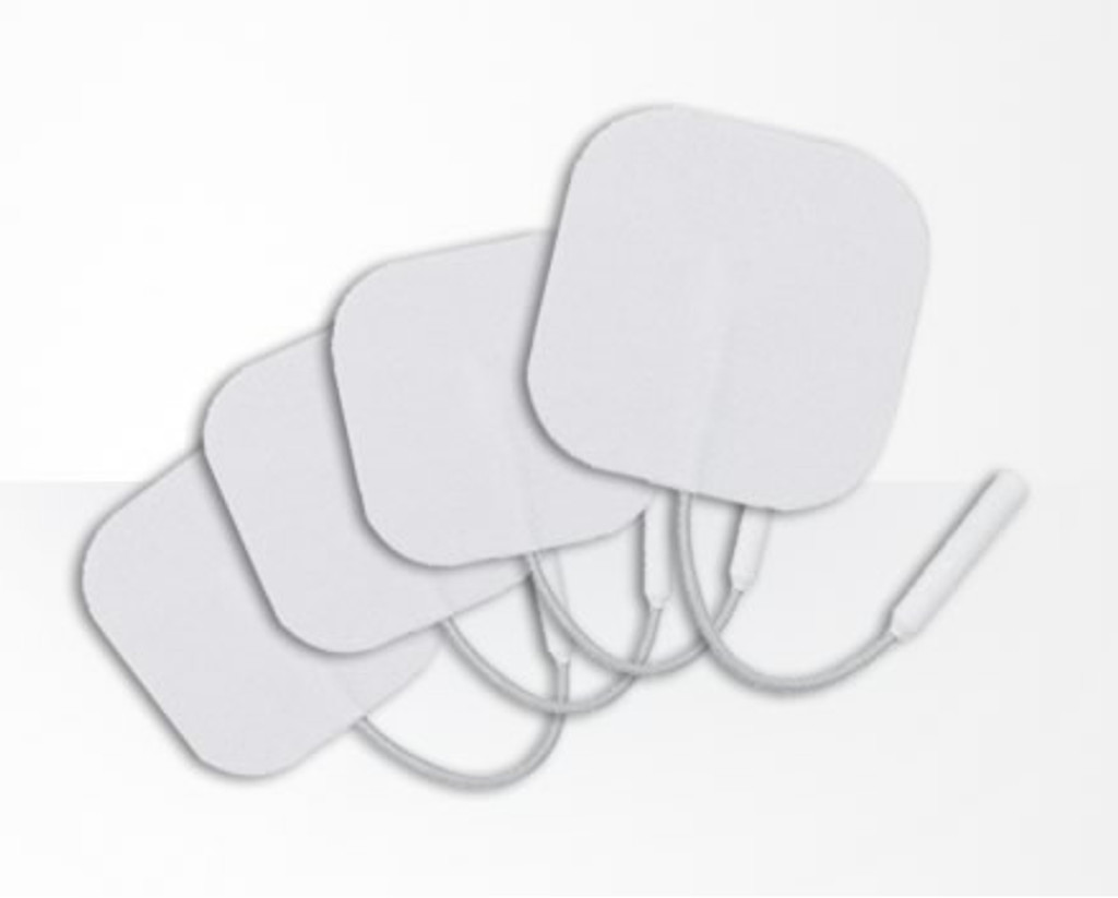 Pack of 4 Superior Silver Sensitive Electrodes 50x50mm