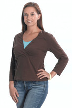 Emma Jane Nursing 3/4 Length Sleeved Top