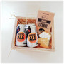 Great gift for dad with beer, licorice and a sugar cookie!