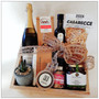 celebrate in your new home with sweet white bubbles from Cottontail Wines, dry roasted hazelnuts, handcrafted tea towel, dukkah, olive oil and able olives,  hand created salts and pepper mix, handmade pasta from Zecca