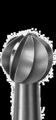 """Friction Grip (FG) Round carbide dental bur, 1/16"""" shank diameter. FG1, FG2, FG4, FG6, FG8"""