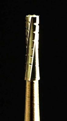 "FG Straight Crosscut Carbide Bur, 1/16"" shank"