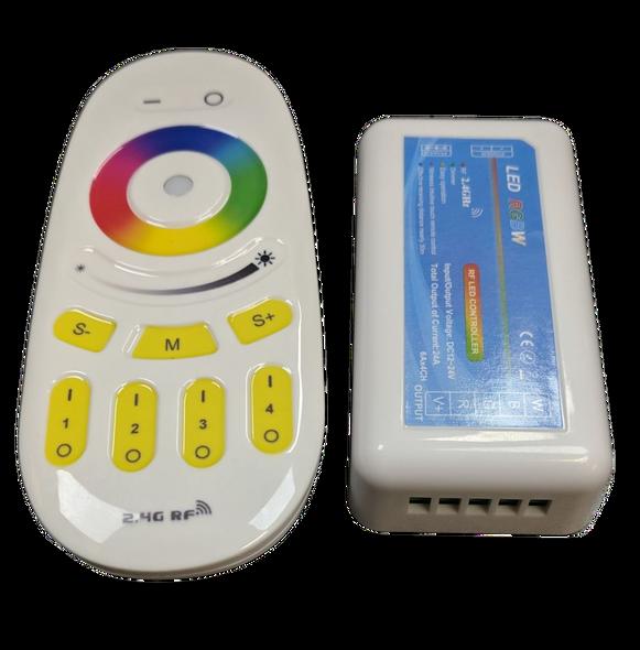 TL 2.4 GHz RGBW LED Strip Light Controller