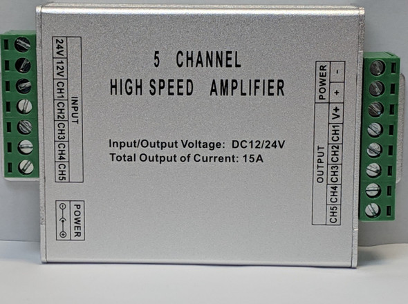 12/24V Amplifier for RGBW Strip Lights