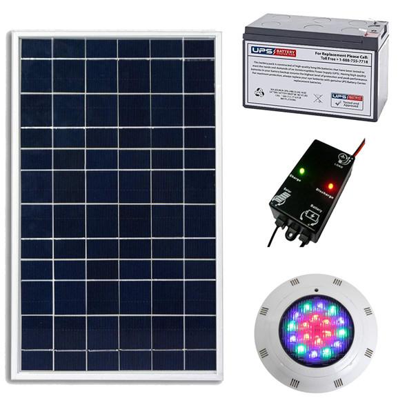 solar pool light package
