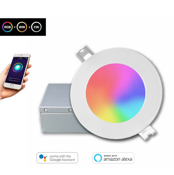 4 inch WI-FI Smart Panel Light
