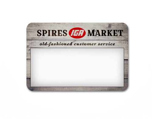 Free Random Sample Name Tags - Mailed to your Door