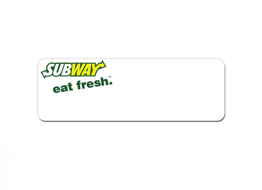 Metal Logo Name Tags