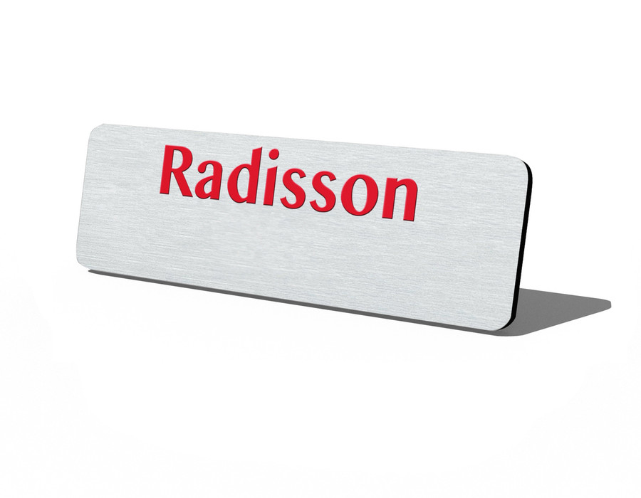 Plastic Logo Name Tags