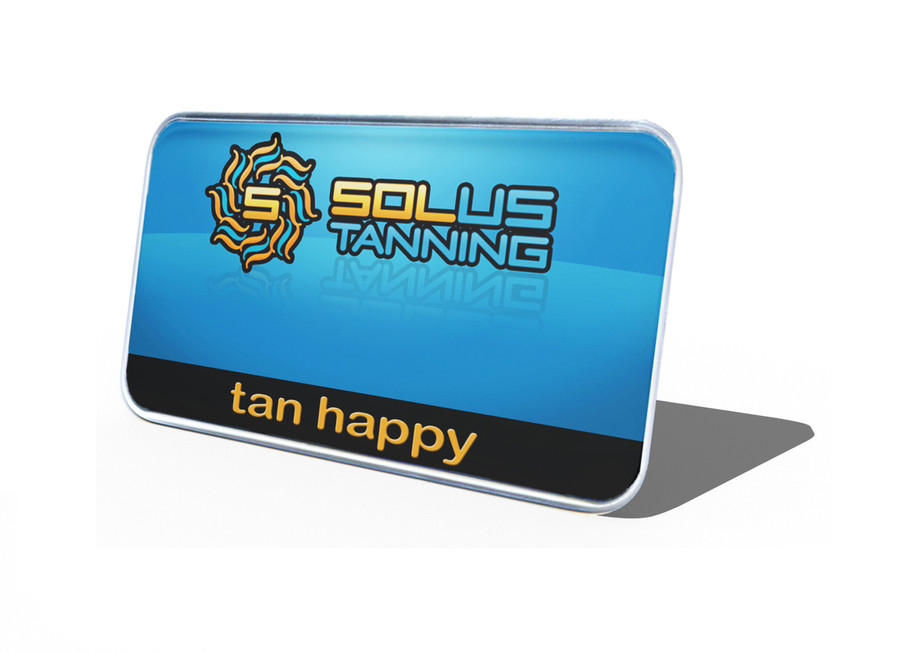Domed Logo Name Tags