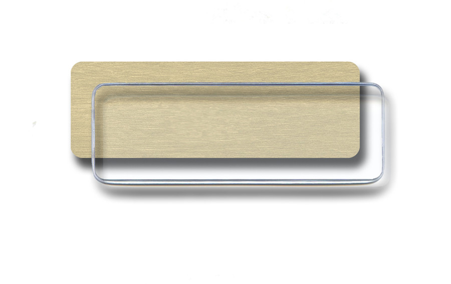 Gold Insert With Dome