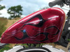 Devil tail 6 pc flame set Demon Red for harley sportster