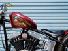 V-twin Wings (Leather Brown) - 3pc Tank decal set