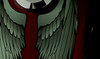 Wings  - Tank decals (Black) - 2pc set