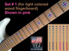 Iron Cross - Fret Marker decals - 90pc sets - 3 Styles