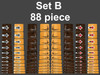 Set B 88 piece set can cover 8 Guitars or mix and match them