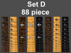 Set D 88 piece set can cover 8 Guitars or mix and match them