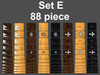 Set E 88 piece set can cover 8 Guitars or mix and match them