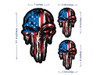 Punisher American flag 3 piece set