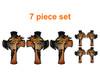 7 piece set