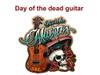 day of the dead guitar dia de los muertos guitar 6 piece set