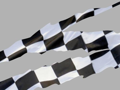 Ripped Stripe - 4pc set - Checkered Flag