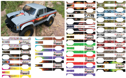 Element RC Enduro - Body decal sets - Choose from 21 Styles