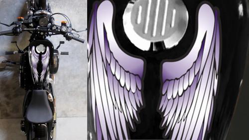 purple wings 2 piece set