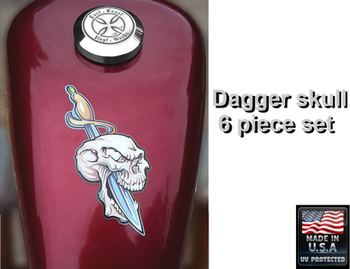 """The large 3"""" x 6"""" piece shown on a 2.2 gal sportster tank"""