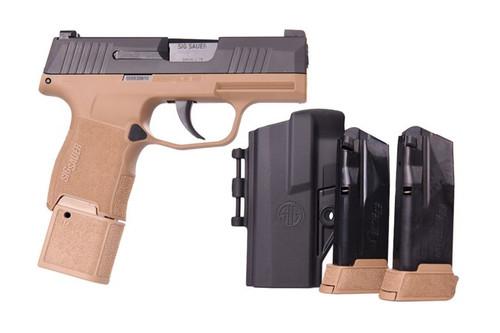 Sig Sauer P365 TacPac FDE 9x19mm