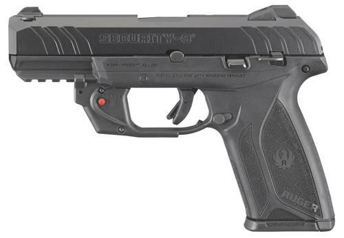 Ruger Security 9 w/ Red Laser 9x19mm