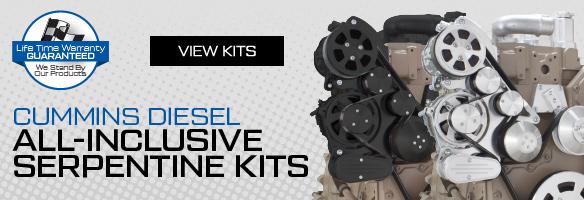 Cummins Diesel Serpentine Front Engine Kits