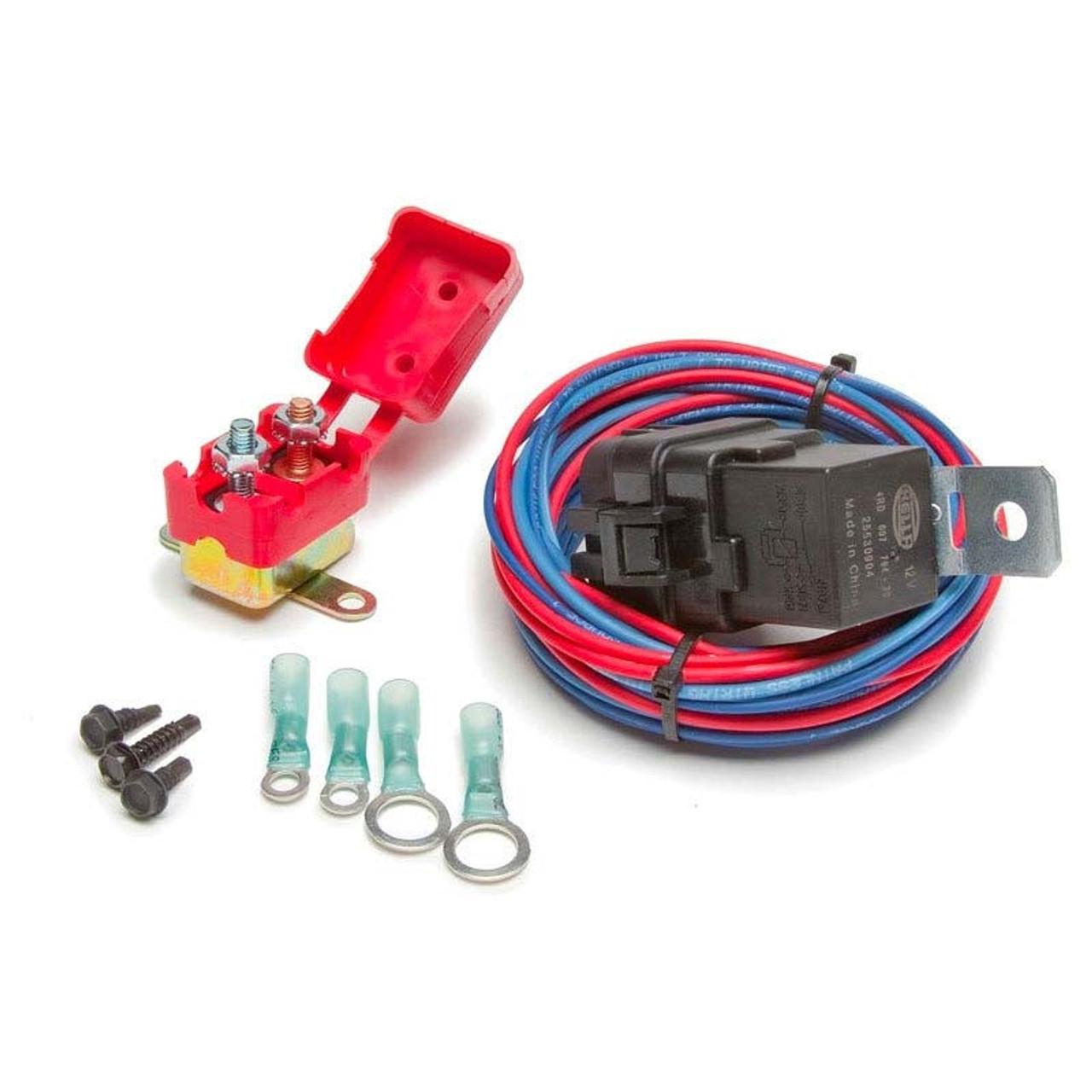 Fantastic 20 Amp Weatherproof Electric Water Pump Relay Kit From Painless Wiring 101 Archstreekradiomeanderfmnl