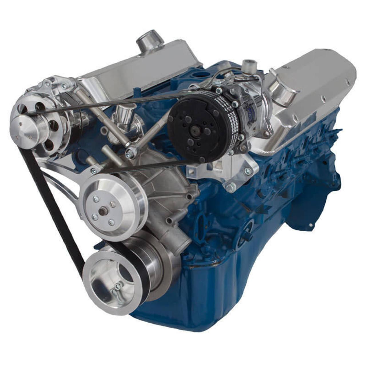 Ford 5 0L & 5 8L Serpentine Conversion Kit - Alternator & A/C