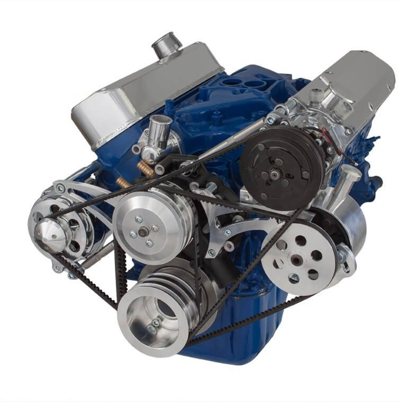 ford mustang windsor alternator wiring diagram on ford v-belt pulley &  cket: power steering, a/c & alternator