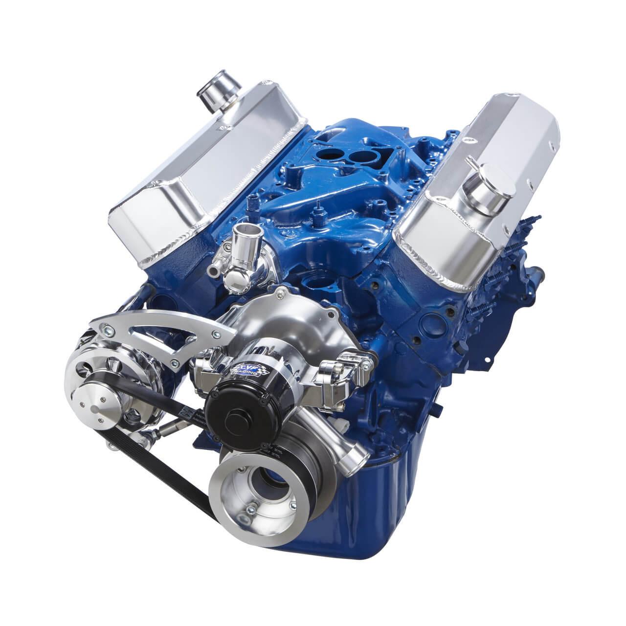 Ford Serpentine Conversion 289 302 351w Meziere High Flow Ewp