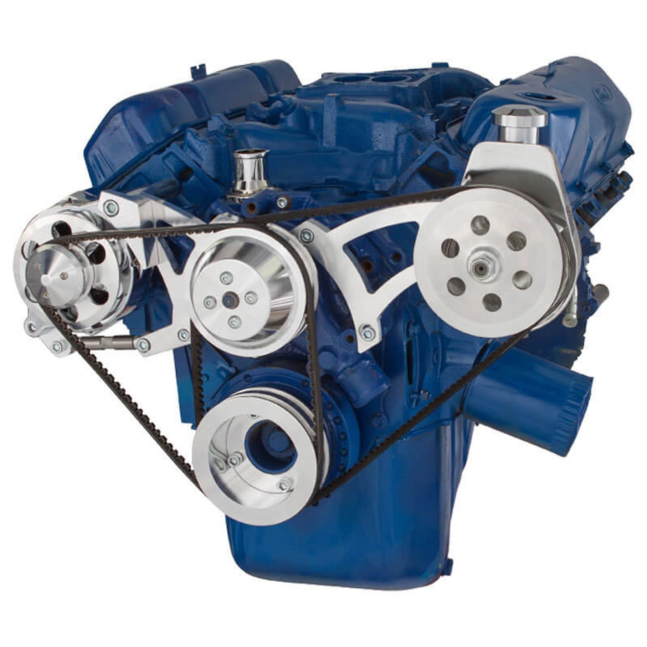 Ford 351 Cleveland V Belt Pulley System 351c