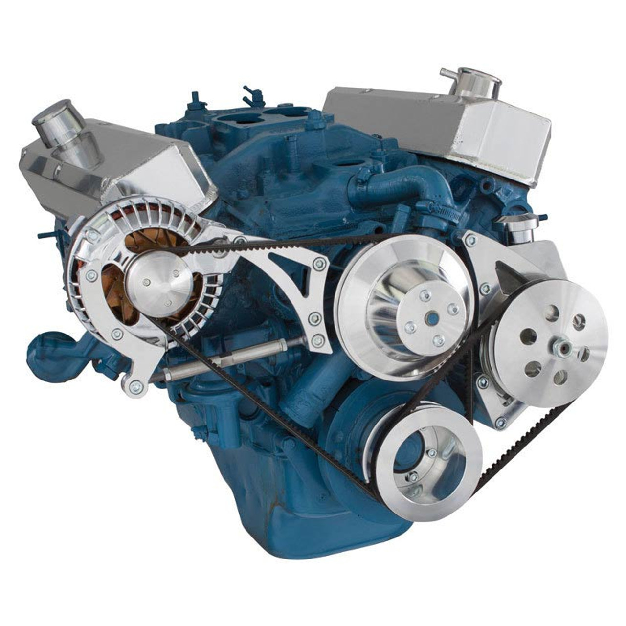 Chrysler Small Block Power Steering & Alternator System (318, 340 & 360)