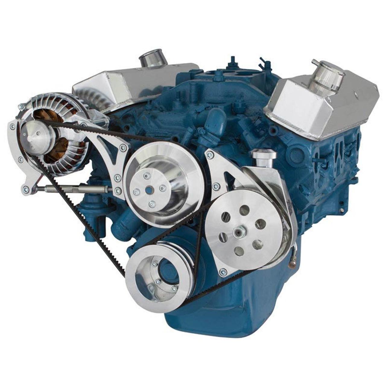 Chrysler Small Block Power Steering & Alternator System (318, 340 & 360)