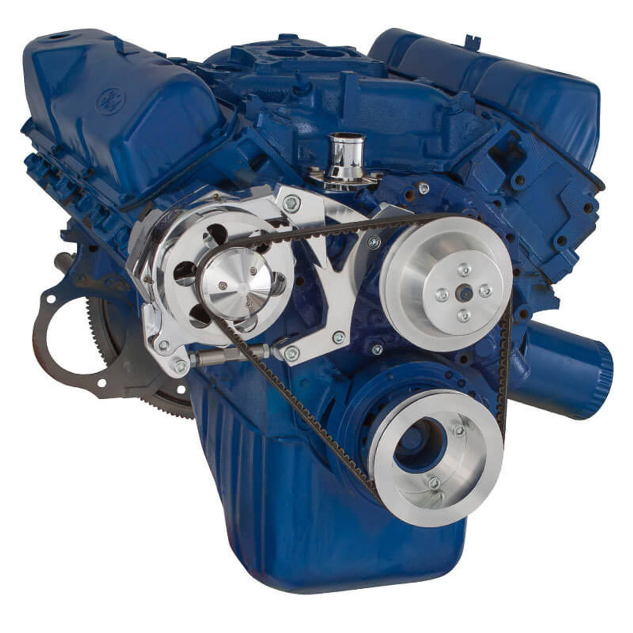 ford 351c, 351m \u0026 400 v belt pulley system (351c) alternator onlyford 351c, 351m \u0026 400 v belt system alternator only