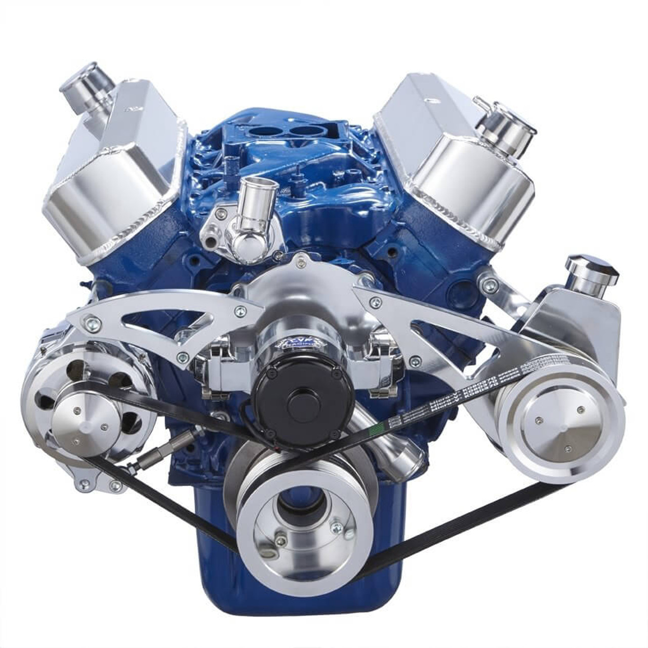 Ford 302 Windsor Serpentine System Ewp With Power Steering