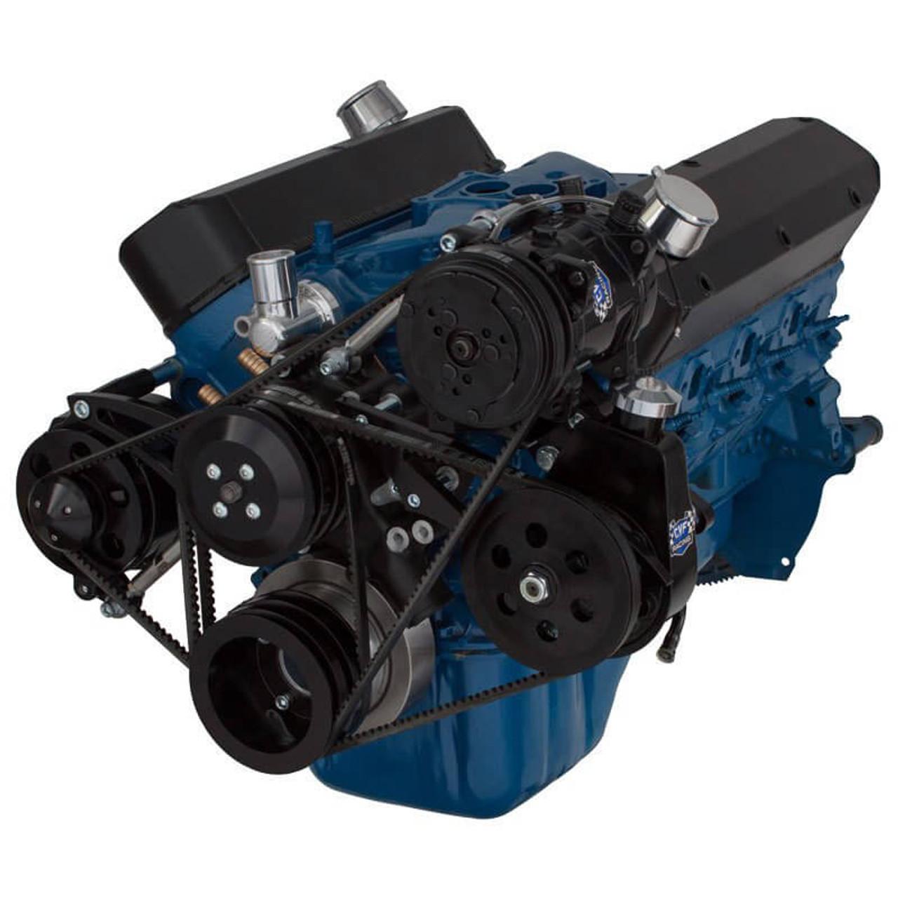 Black Ford V C  U0026 Alternator