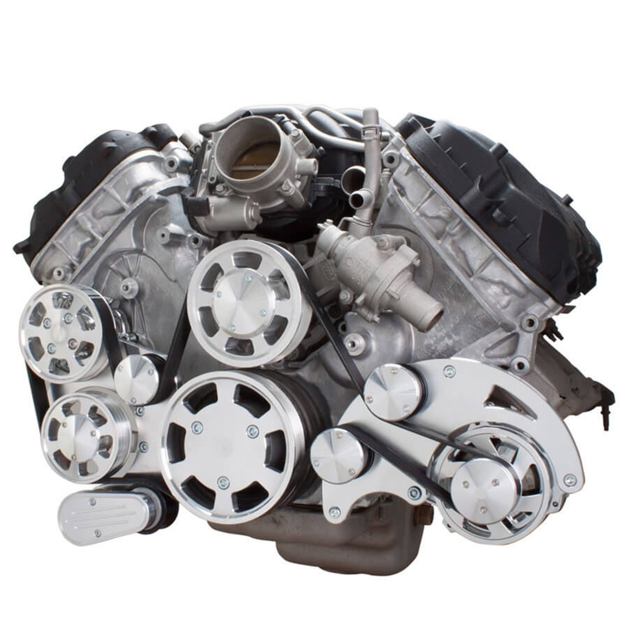 serpentine system for ford coyote 5 0 alternator \u0026 power steering all inclusive 1986 Ford Alternator Wiring
