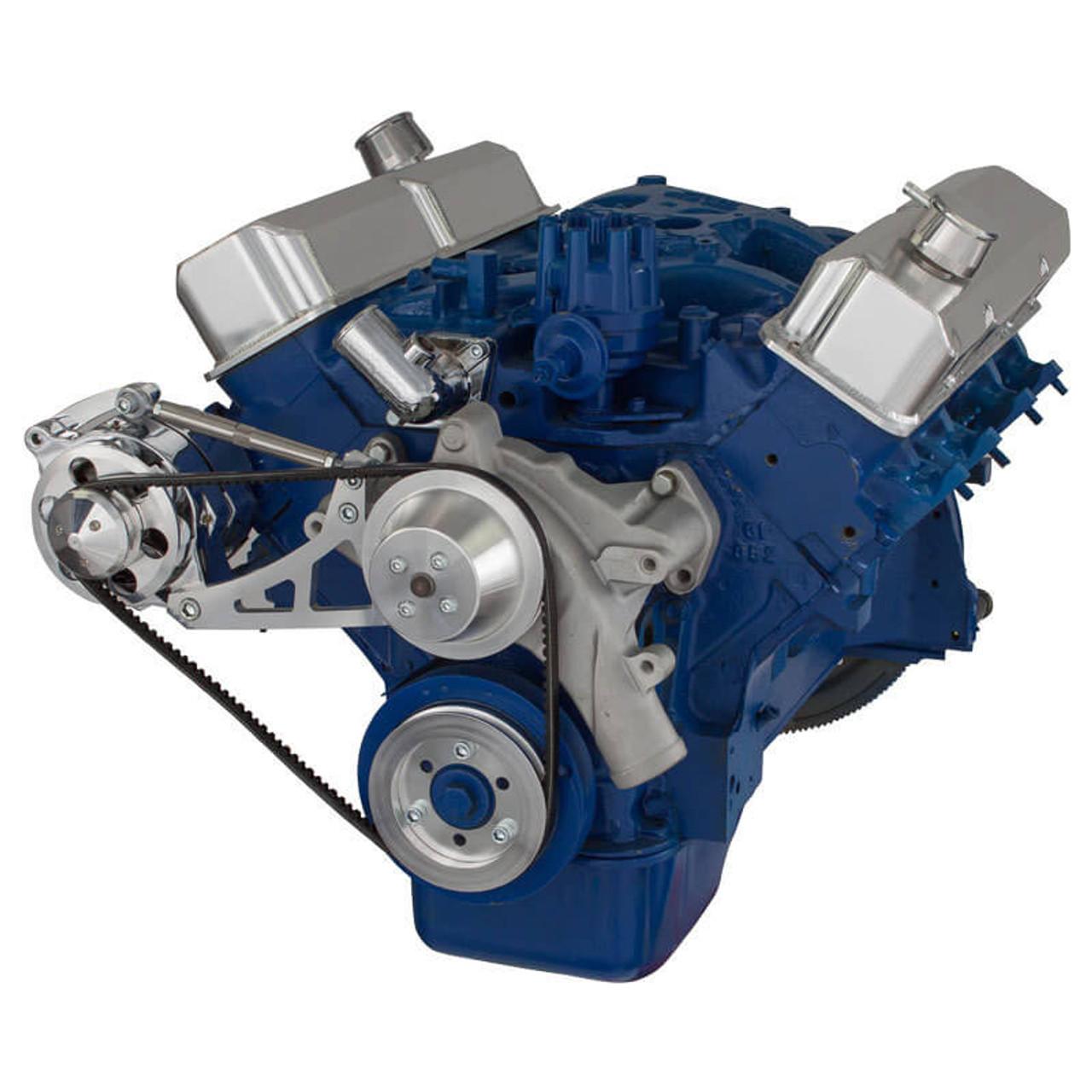 [SCHEMATICS_4US]  Ford 390 FE Engine V-Belt Pulley System - Alternator   Fe 390 Engine Diagrams On      CVF Racing