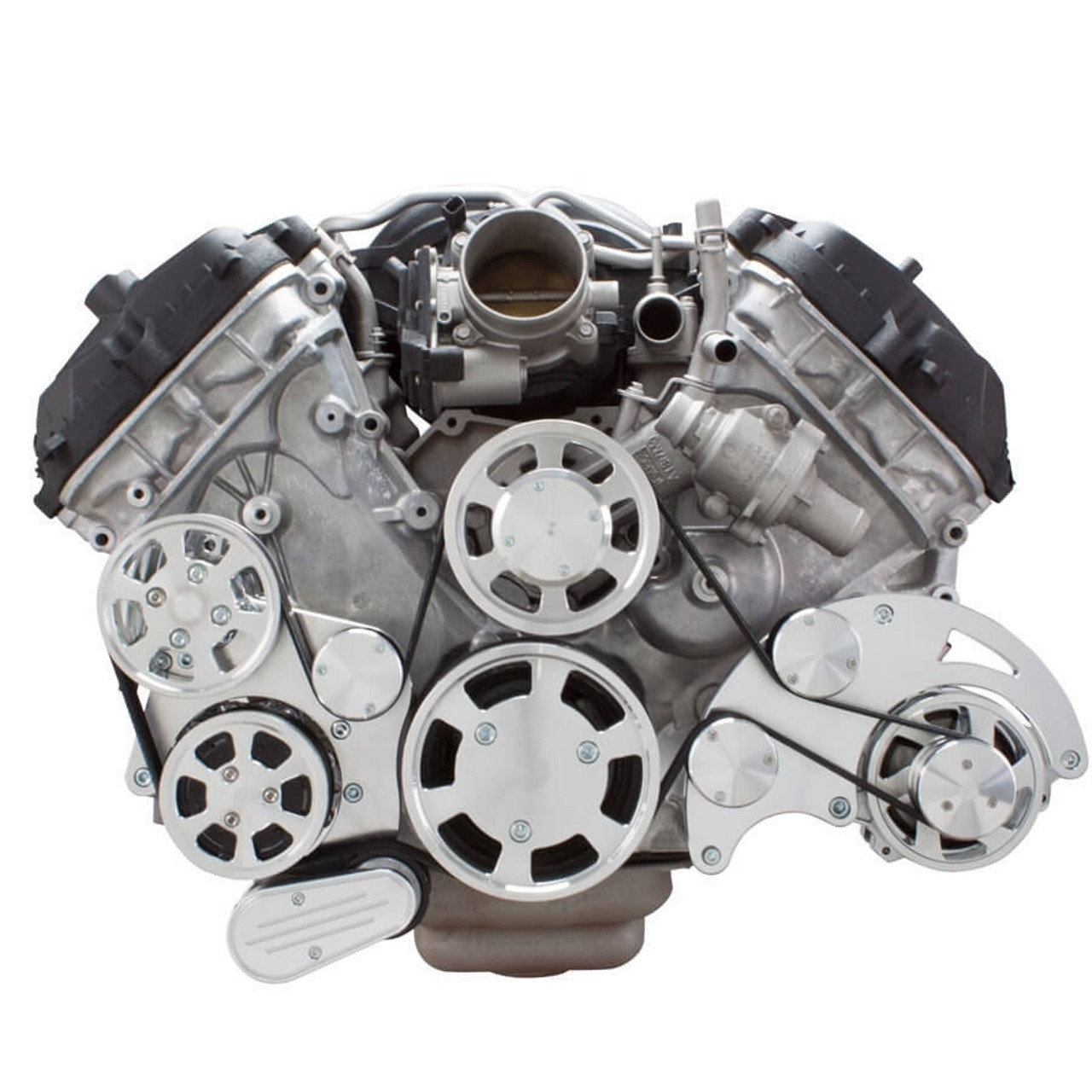 serpentine system for ford coyote 5 0 ac, power steering \u0026 alternator all inclusive 1986 Ford Alternator Wiring