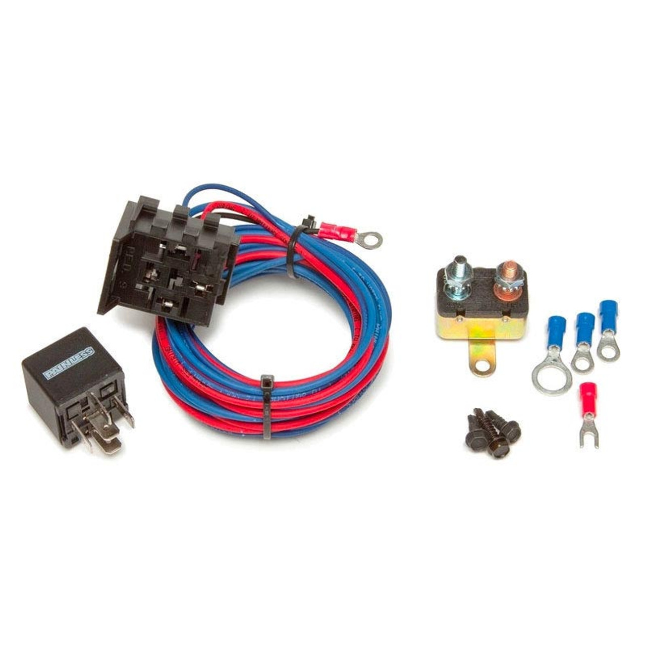 painless performance electric water pump wiring kit - 30 amp