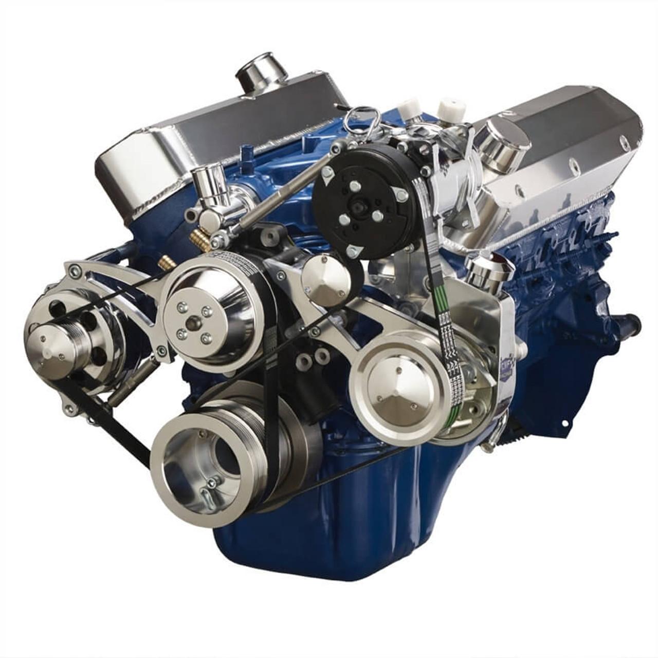 Ford Serpentine Brackets Pulley Kit 289 302 351w