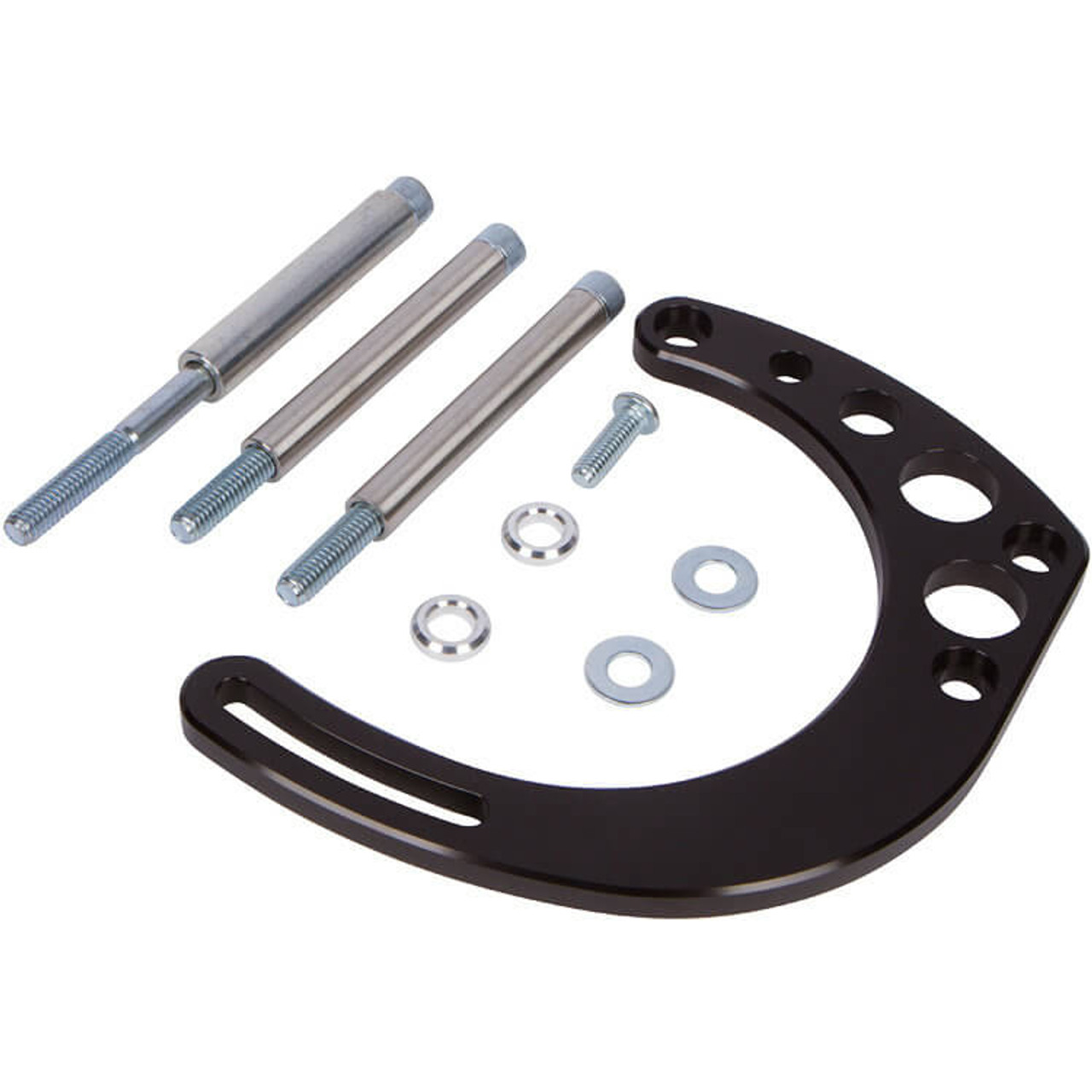 Small Block Chevy Black Alternator Bracket